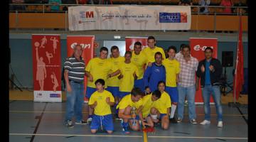 Fiesta del fútbol sala de nuestros equipos de la liga FEMADDI en Arroyo de la Media Legua