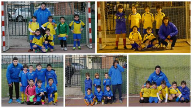 Equipos fútbol sala Palestra Eva Duarte