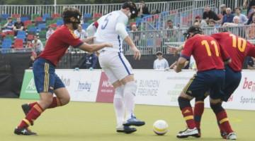 Fútbol y discapacidad visual