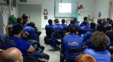 Charla-coloquio sobre psicología deportiva en el fútbol base organizada por Palestra Torrespaña