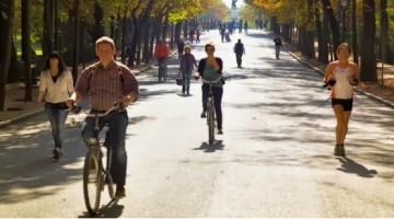 Hacer deporte al aire libre en Madrid