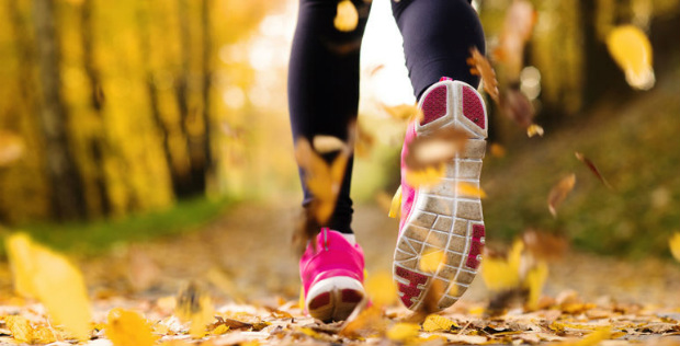 deporte y otoño