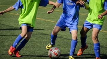 Entrenamientos en el fútbol base