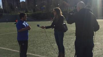 El Club Deportivo Palestra Atenea en los informativos de Televisión Española