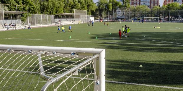 presión en el fútbol base