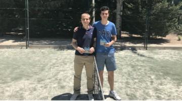 Ganadores de la X edición del torneo de pádel Ranking Palestra Atenea