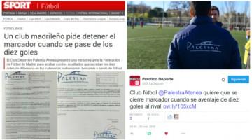 Los medios se hacen eco de nuestra iniciativa para acabar con los resultados humillantes en el fútbol base