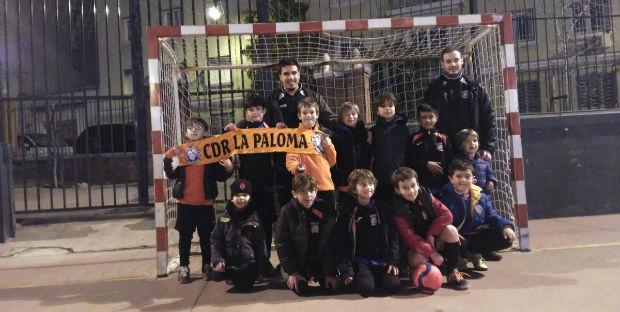 torneo benéfico fútbol sala Palestra Atenea