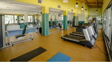 El polideportivo Torrespaña inaugura un nuevo gimnasio
