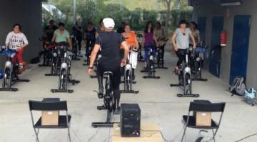 Master Class de ciclo indoor en Palestra Torrespaña