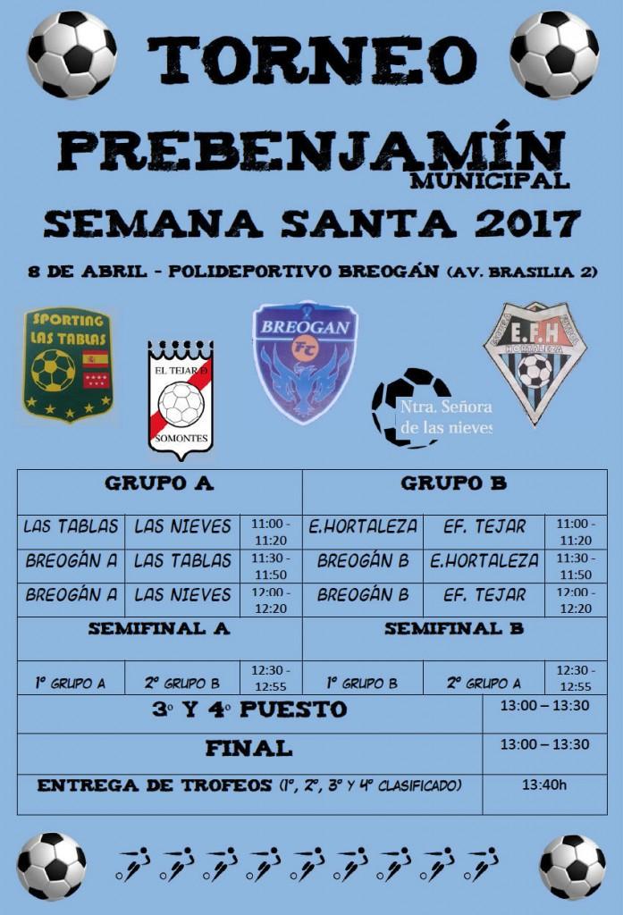 Torneo Semana Santa 2017 prebenjamín en Palestra Breogán
