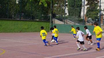 escuela de fútbol sala de Palestra Atenea