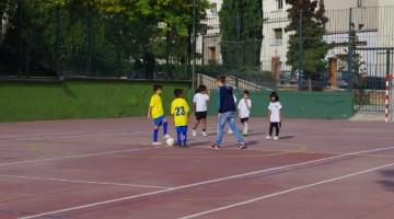Plazas libres en la escuela de fútbol sala de Eva Duarte